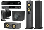 Onkyo TX-L50+Onkyo BD-SP353+B&W  684 S2+B&W  HTM62 S2+B&W ASW 610+B&W M-1 New