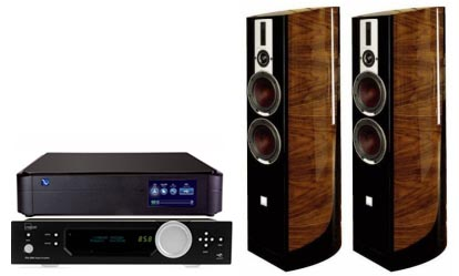 PS Audio PerfectWave+Lyngdorf Audio TDAI 2200 RP ADC+Dali Epicon 6
