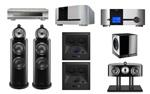 B&W 802 D3+B&W HTM2 D3+B&W CCM 7.3+B&W ASW DB1+CLASSE SSP 800 3D+CLASSE DELTA CA 5300+OPPO BD-105D