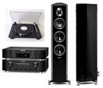 Marantz ND8006+Marantz PM8006+Thorens TD206 highgloss black+Sonus Faber Sonetto III