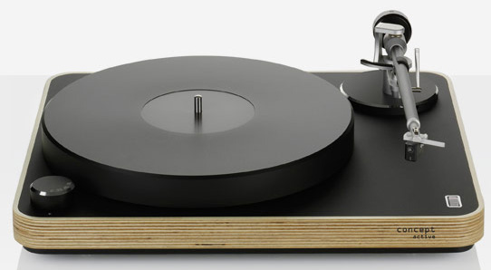 Clearaudio Concept Active MC Wood