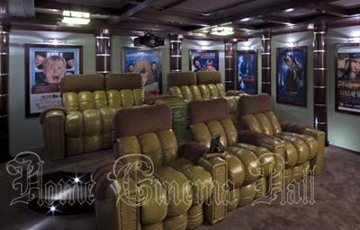 Кресла реклайнер для домашнего кинотеатра серии Elit