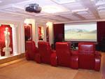 Загородный дом. Кинотеатр на B&W 800-серии, Classe, Lexicon