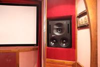 Экран и скрытая акустика кинозала в Витенёво